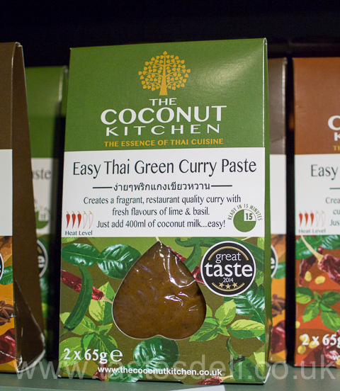 Easy Thai Green Curry Paste. From Coconut Kitchen