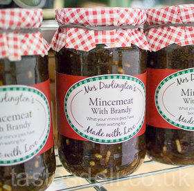 Mrs Darlington's Mincemeat with Brandy