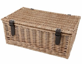 "Create your own Hamper - 18"" wicker basket"