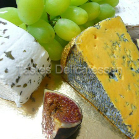 Cheese Board (serves 2 as lunch, 4-6 as cheese course)