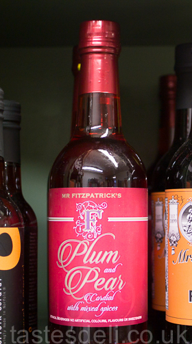 Plum, Pear & Mixed Spice Cordial