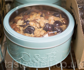 Cherry & Almond Fruit Cake Tin
