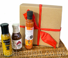 Hot Stuff Chilli Sauce Gift Box