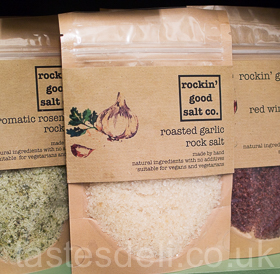 Roasted Garlic Rock Salt