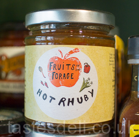 Hot Rhuby Chilli Jam