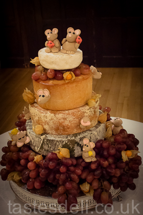 Cheese Wedding Cake #21